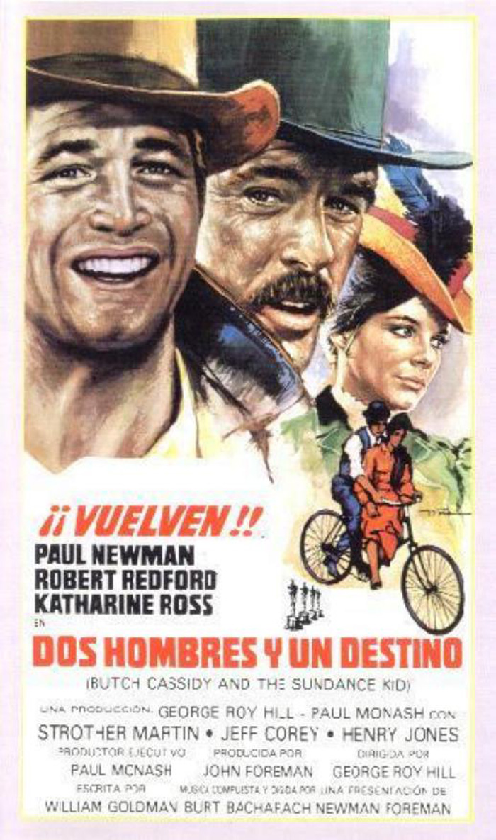 DOS HOMBRES Y UN DESTINO - Butch Cassidy and the Sundance Kid - 1969 ...