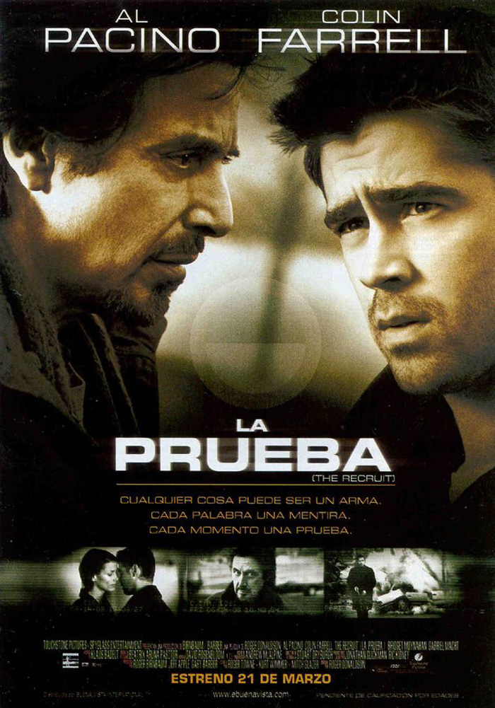 LA PRUEBA - The Recruit - 2003.jpg