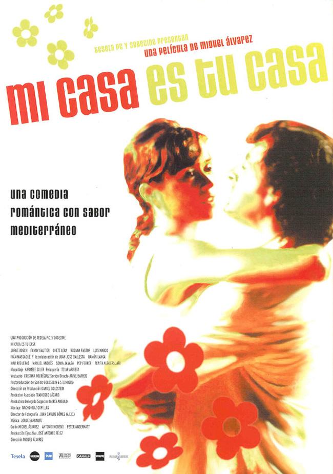 M g cine carteles de pel culas mi casa es tu casa 2002 for Tu casa es mi casa online